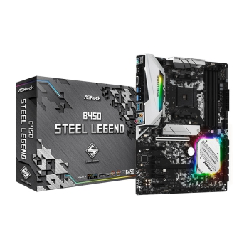 ASRock B450 Steel Legend, Sockel AM4