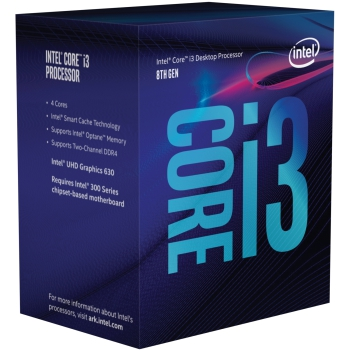 Intel® Core™ i3-8300, Prozessor 4x 3,70GHz (Coffee Lake-S, boxed)