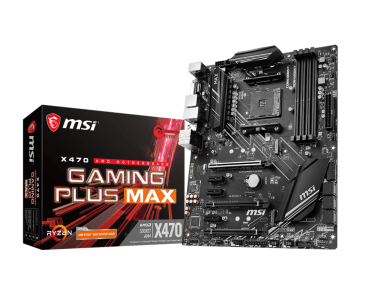 MSI X470 GAMING PLUS MAX, Sockel AM4