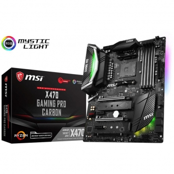 MSI X470 GAMING PRO CARBON, Sockel AM4