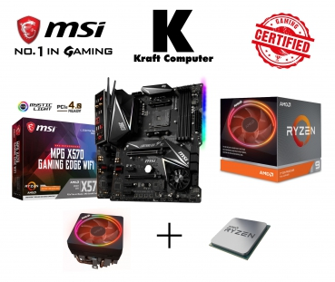 PC Bundle AMD Ryzen 9 3900X (12x3,8GHz) + MSI X570 GAMING EDGE WIFI