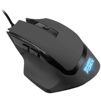 SHARK Force Gaming-Maus USB Schwarz
