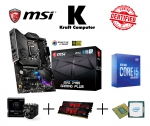 PC Bundle AufrüstKit Intel i5 10600K (6x4,1GHz) + MSI Z490 Gaming Plus + CPU-Kühler