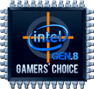 STARTER Gaming Set der 8ten Intel Generation, i3 8100 4x3,60GHz, 8GB DDR4, 1TB Sata3 HDD